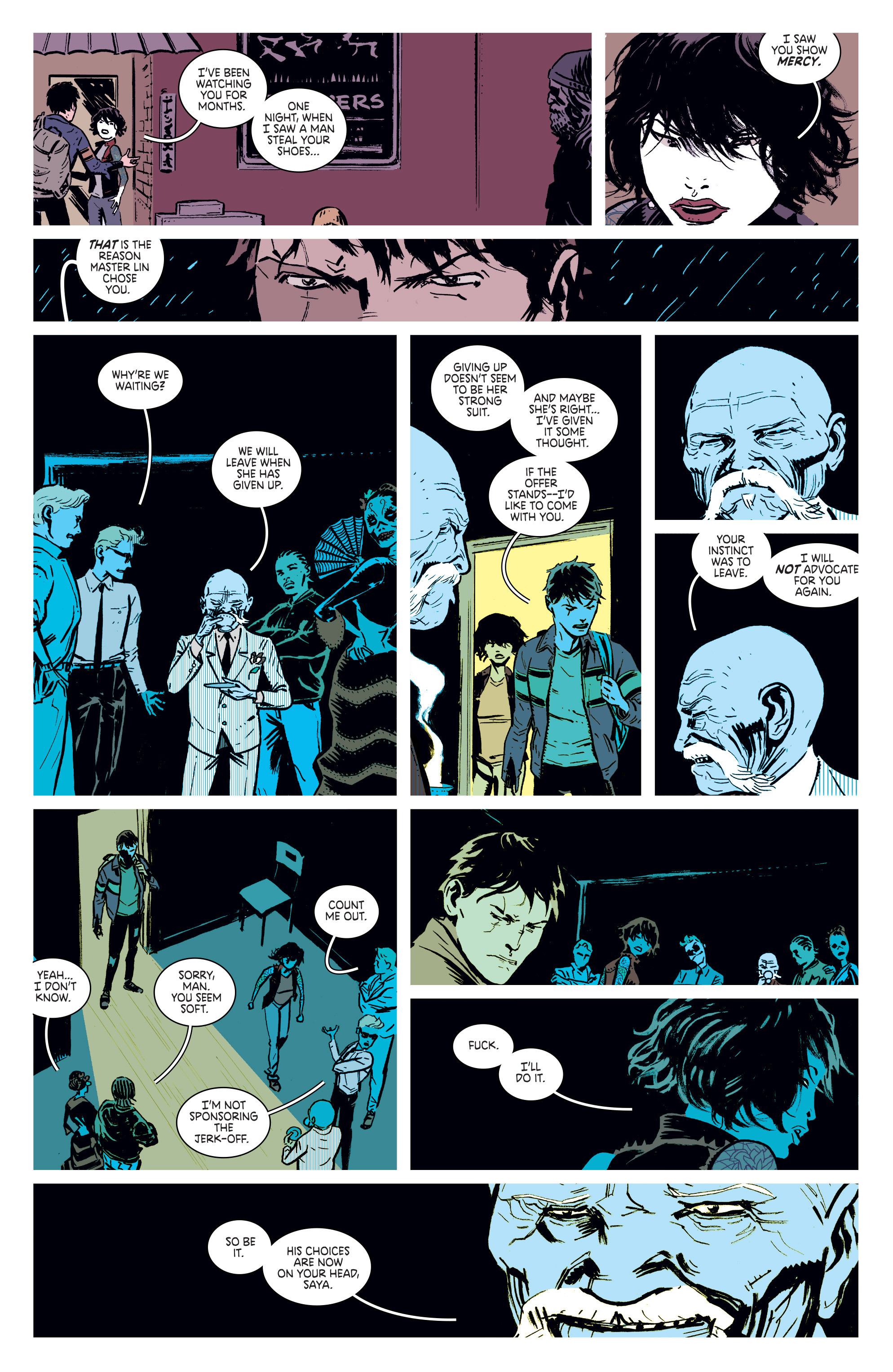 Read online Deadly Class comic -  Issue #1 - 27
