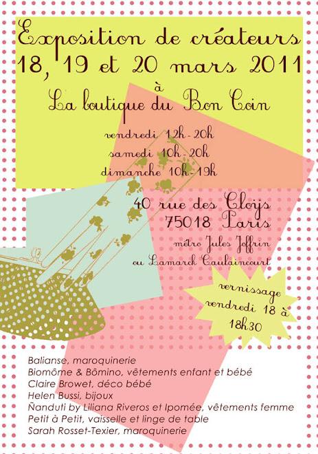 """Expo """"au bon coin"""" 18/19/20 mars 2011"""