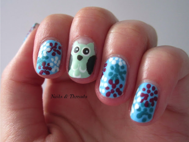 nails & threads hoot hooray