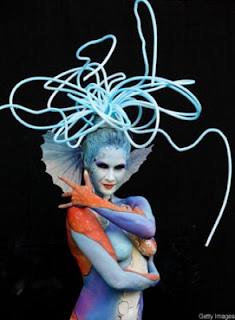 amazing body painting pictures