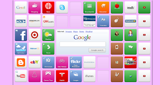 screen shot image of Kathleen's PLN on Symbaloo