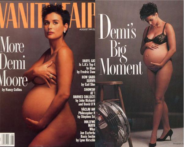 Foto demi moore desnuda y embarazada