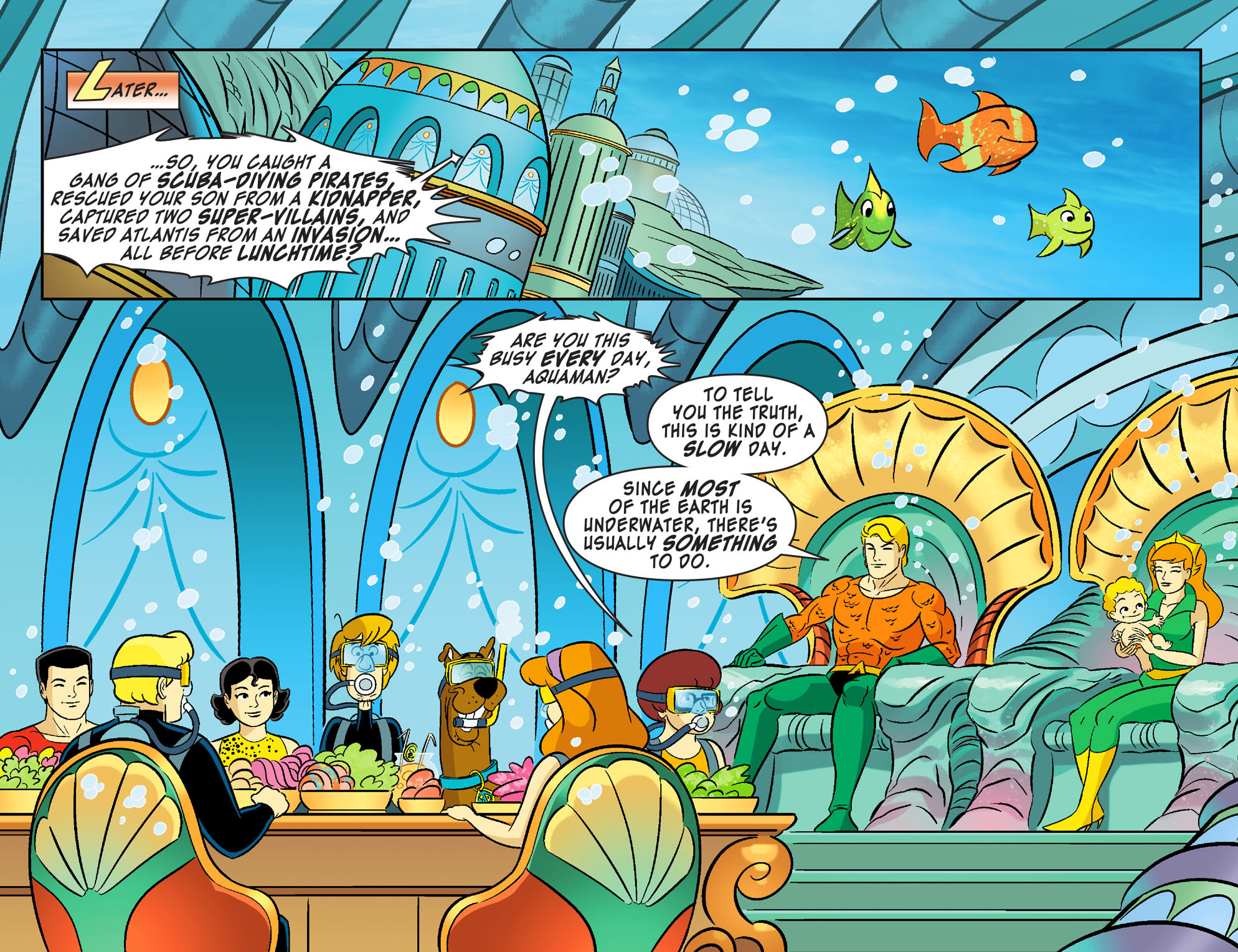 Read online Scooby-Doo! Team-Up comic -  Issue #28 - 20