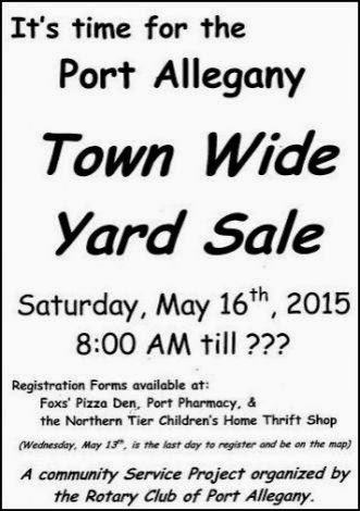 5-16 Port Allegany Yard Sales