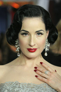 dita von teese nails Polished: A Note On Nail Art