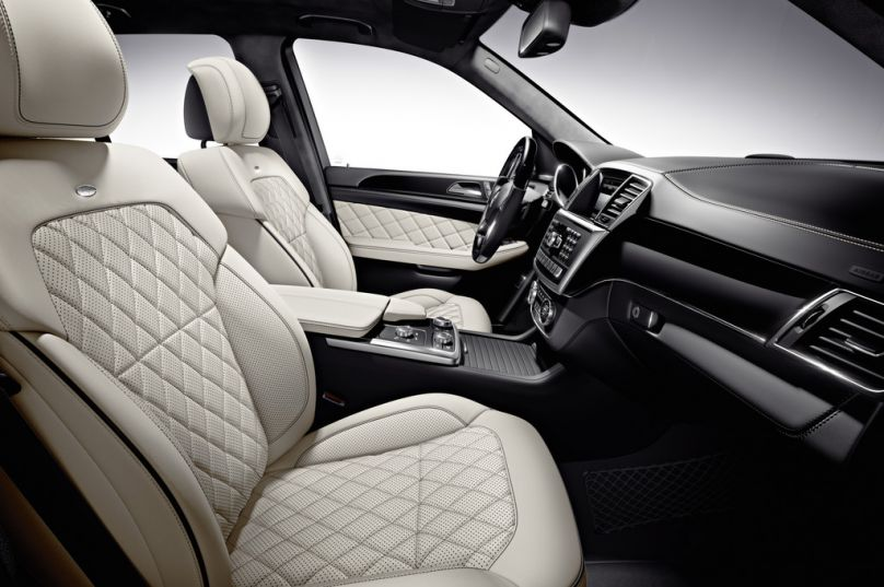 2013 mercedes m class interior