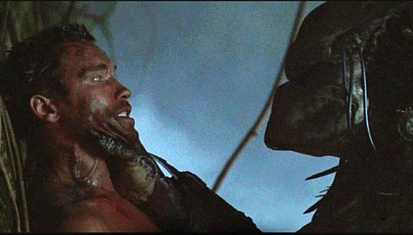 Predator, starring Arnold Schwarzenegger