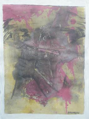 LE FLAMBEAU DU SUCCES,2011,40x30Cm,acrylic on canvas