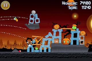 صورة من داخل لعبة انجري بيرد سيسونز
