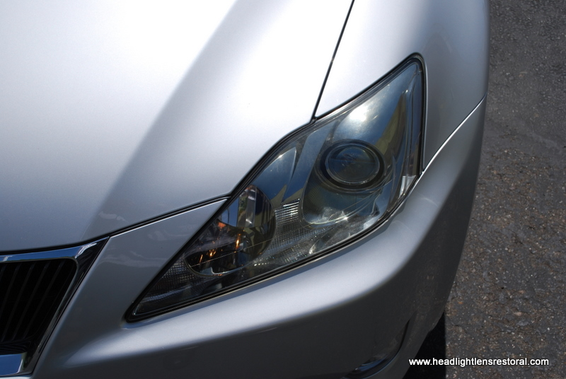 HLR   Headlight Lens Restoral For This 2004 Lexus IS250