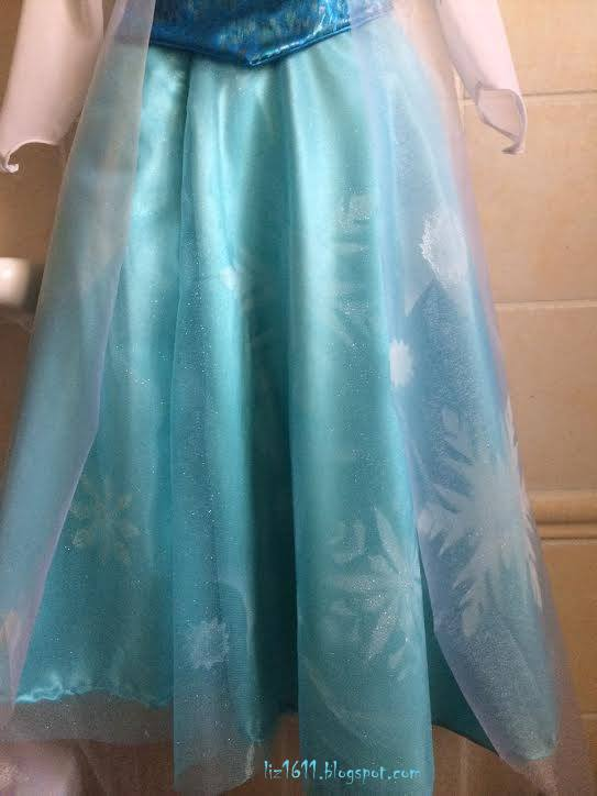 queen elsa frozen costume