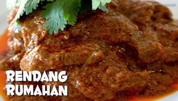 Resep rendang sapi rumahan resep masakan praktis rumahan indonesia