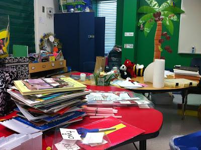 Messy classroom fail