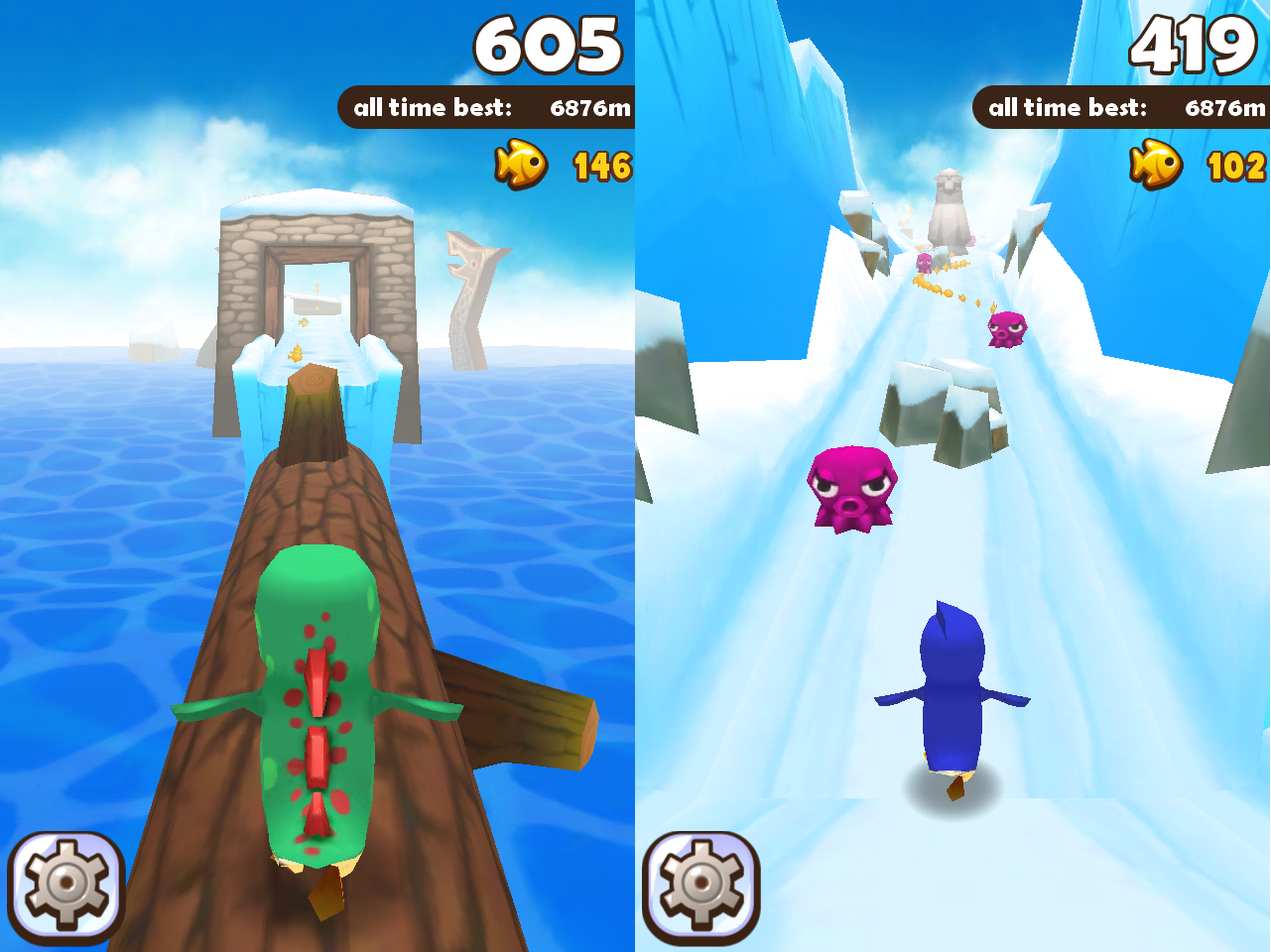 Super penguins PC game crack Download
