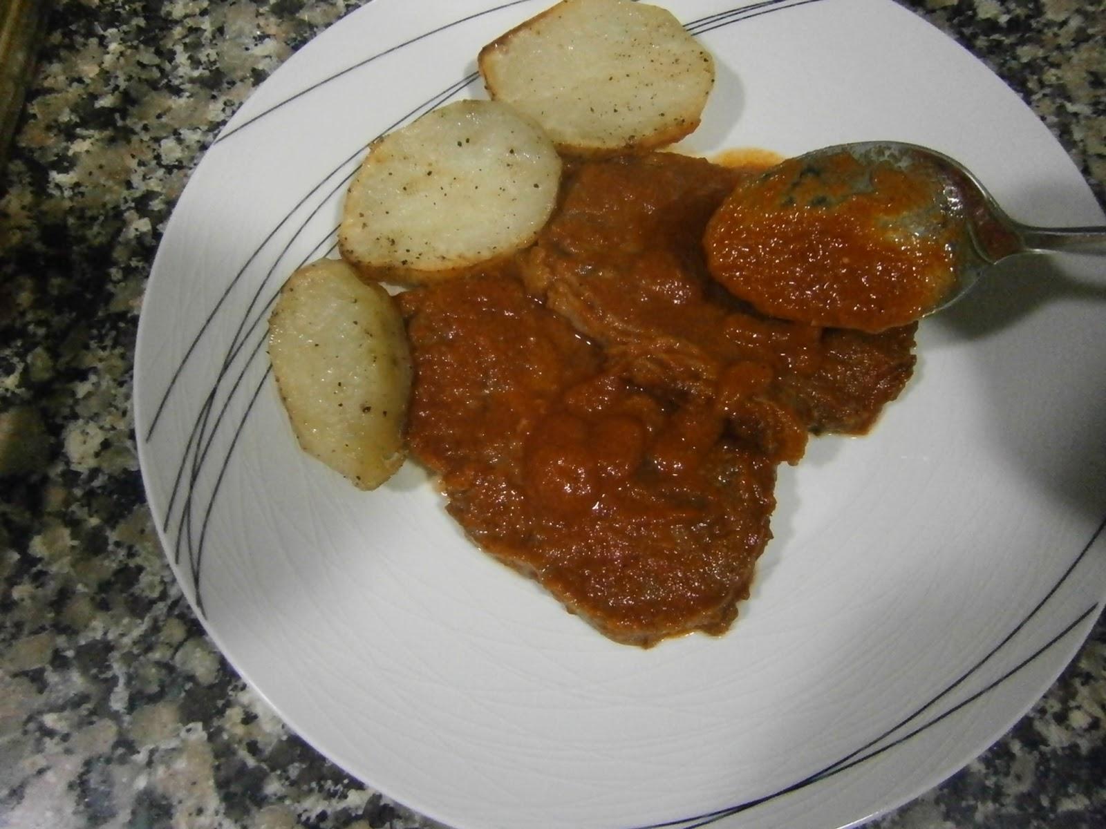 Osukaa is cooking redondo de ternera al horno con salsa - Salsa para verduras al horno ...