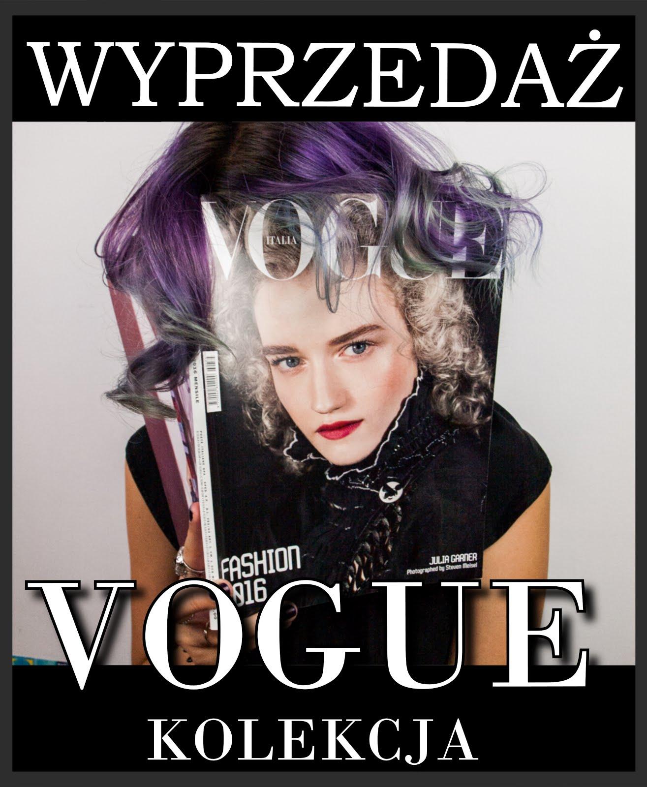 Zapraszam na wyprzedaż Vogue