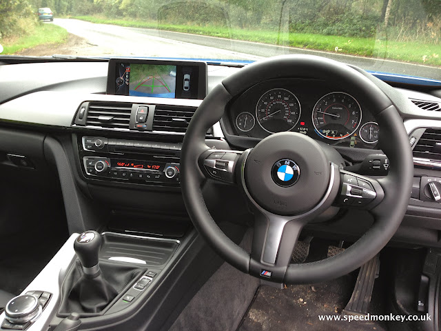 BMW 435i M Sport Coupe interior