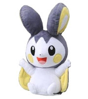 Pokemon Emolga Talkie Plush Tomy