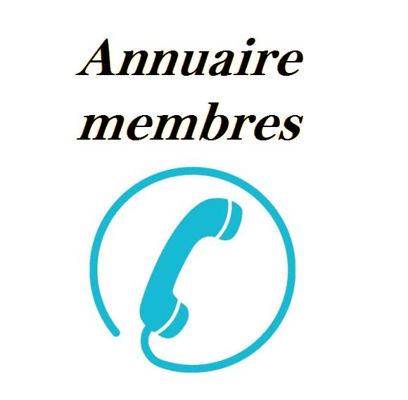 Annuaire membres