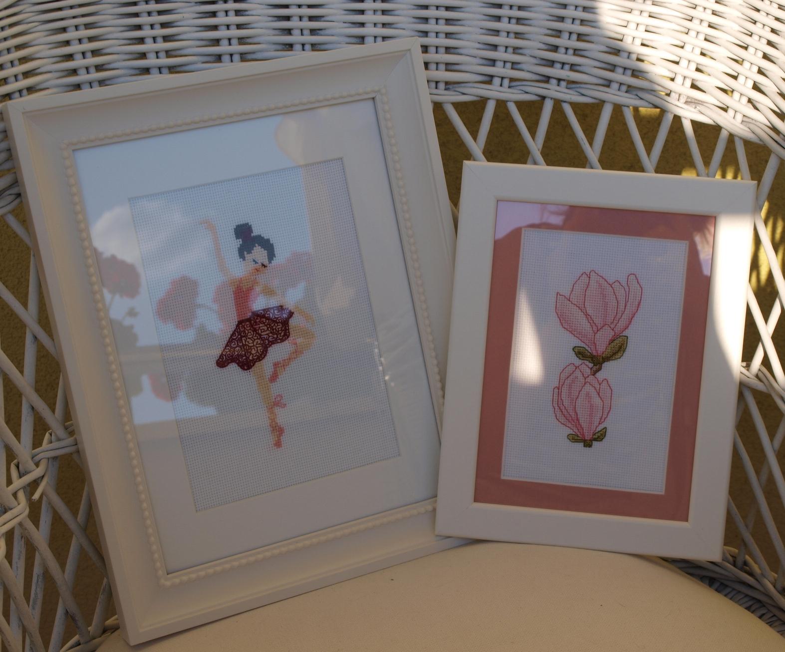 baletnica i magnolia
