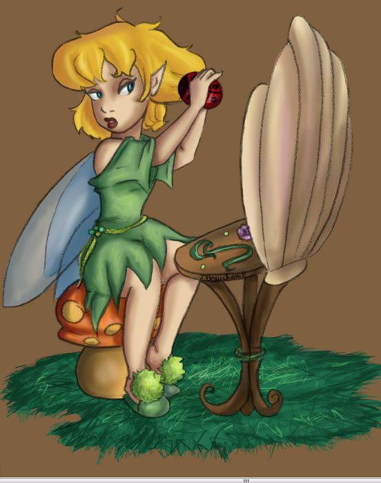DF: Tinker Bell in the morning por Lumosita