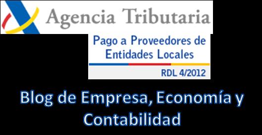 Blog de empresa econom a y contabilidad hoja de ruta del pago a proveedores de entidades - Oficina virtual entidades locales ...