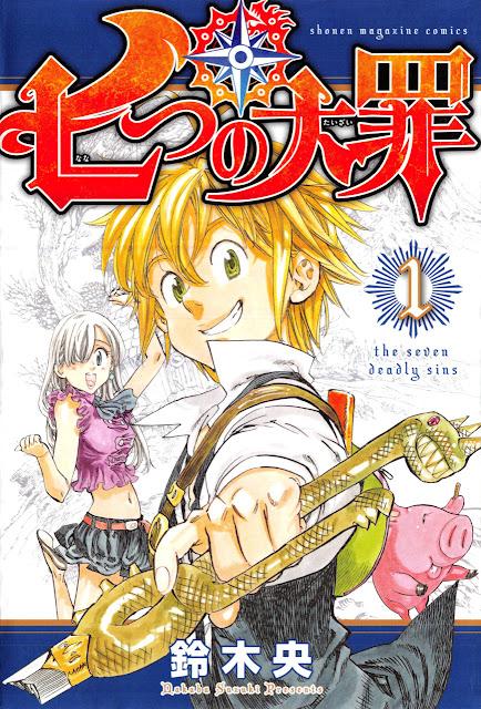 Nanatsu no Taizai pierwszy tom mangi