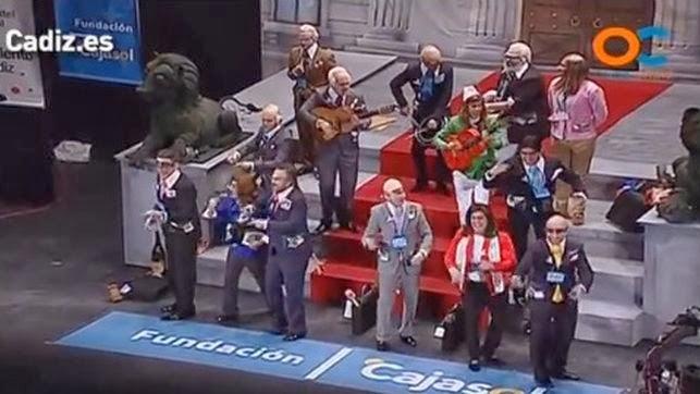 Resultado de la Gran Final de el Carnaval de Cádiz 2014 Calificaciones de la Final Concurso del Falla 2014
