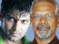 Arya and Mani Ratnam in Ponniyin Selvan