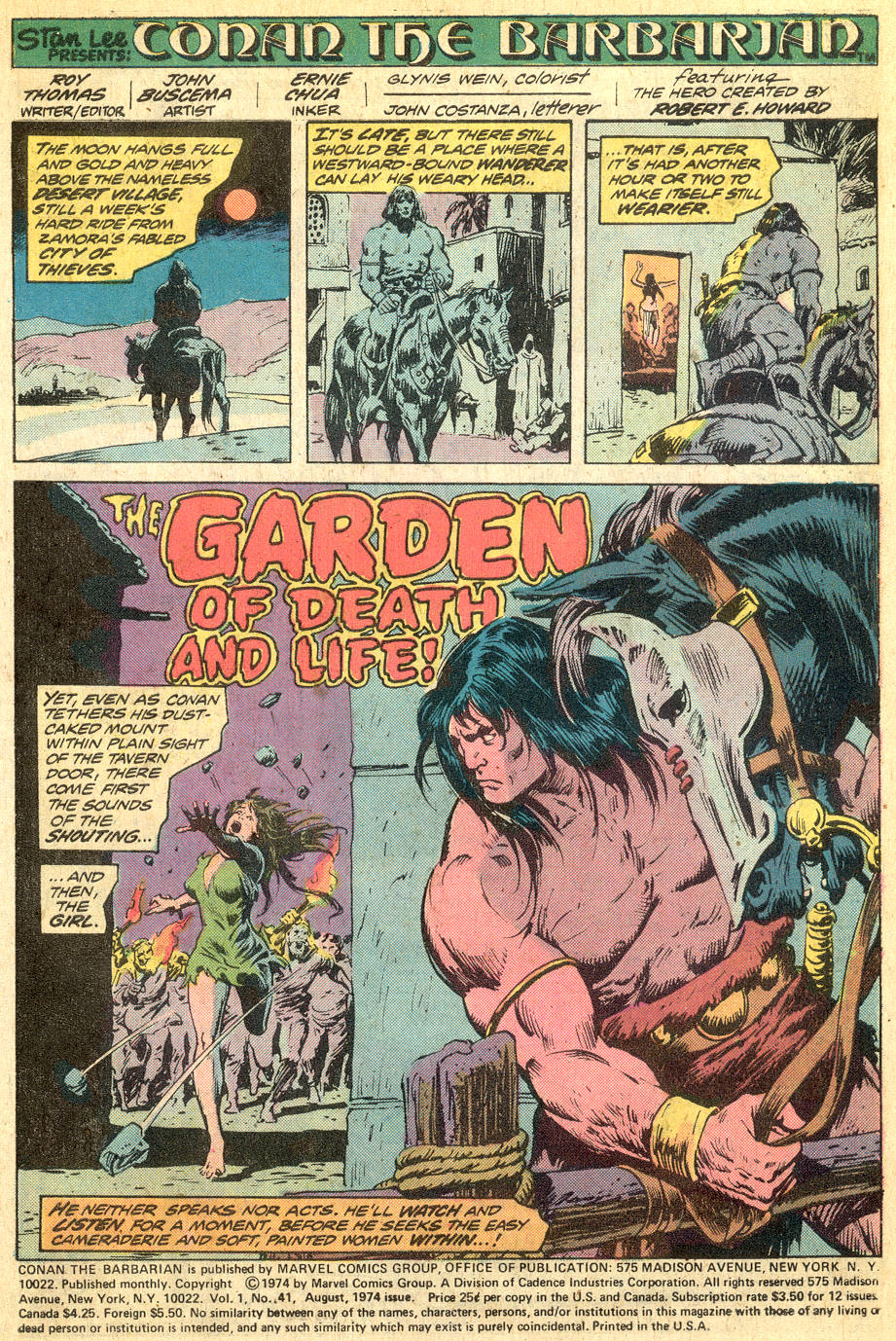 Conan the Barbarian (1970) Issue #41 #53 - English 2
