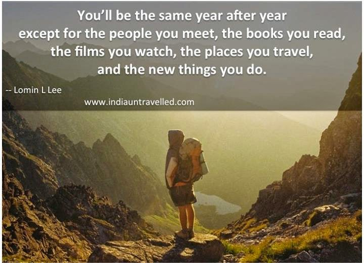 best travel quotes, travel quotes, youll be the same year after year quote