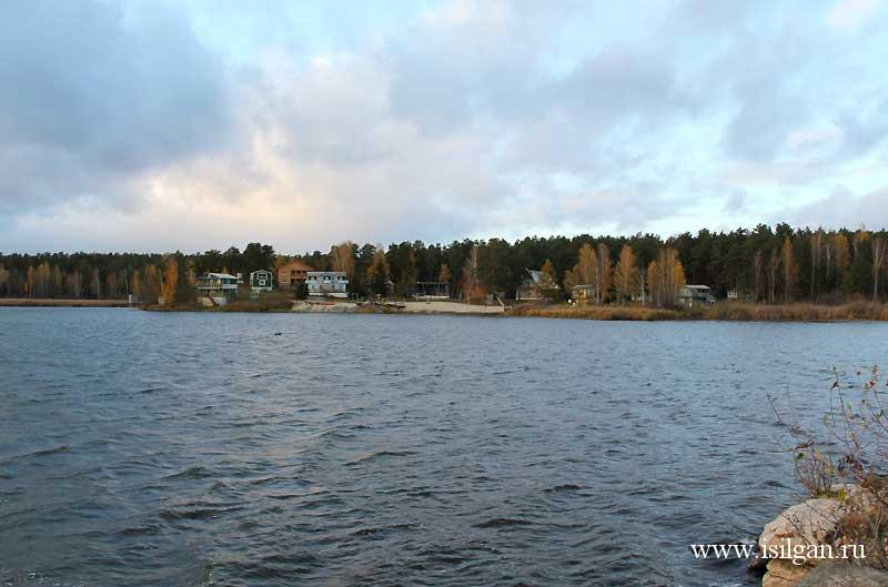 Просторы озера иртяш