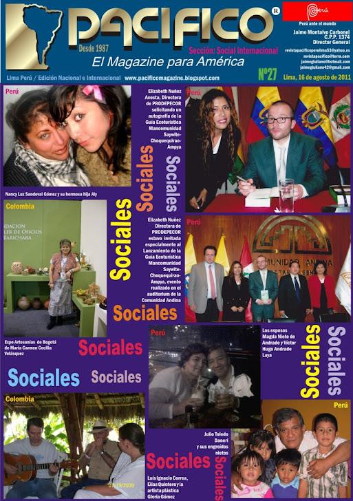 Revista Pacífico Nº 27 Social Internacional