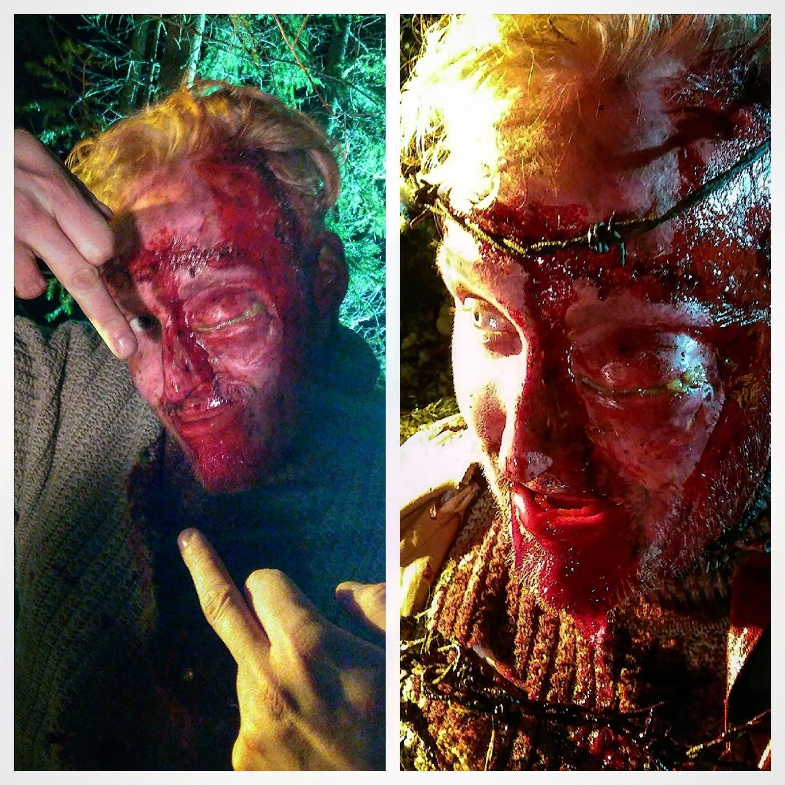 Kotiinpaluu short film. Makeup FX: Ari Savonen.