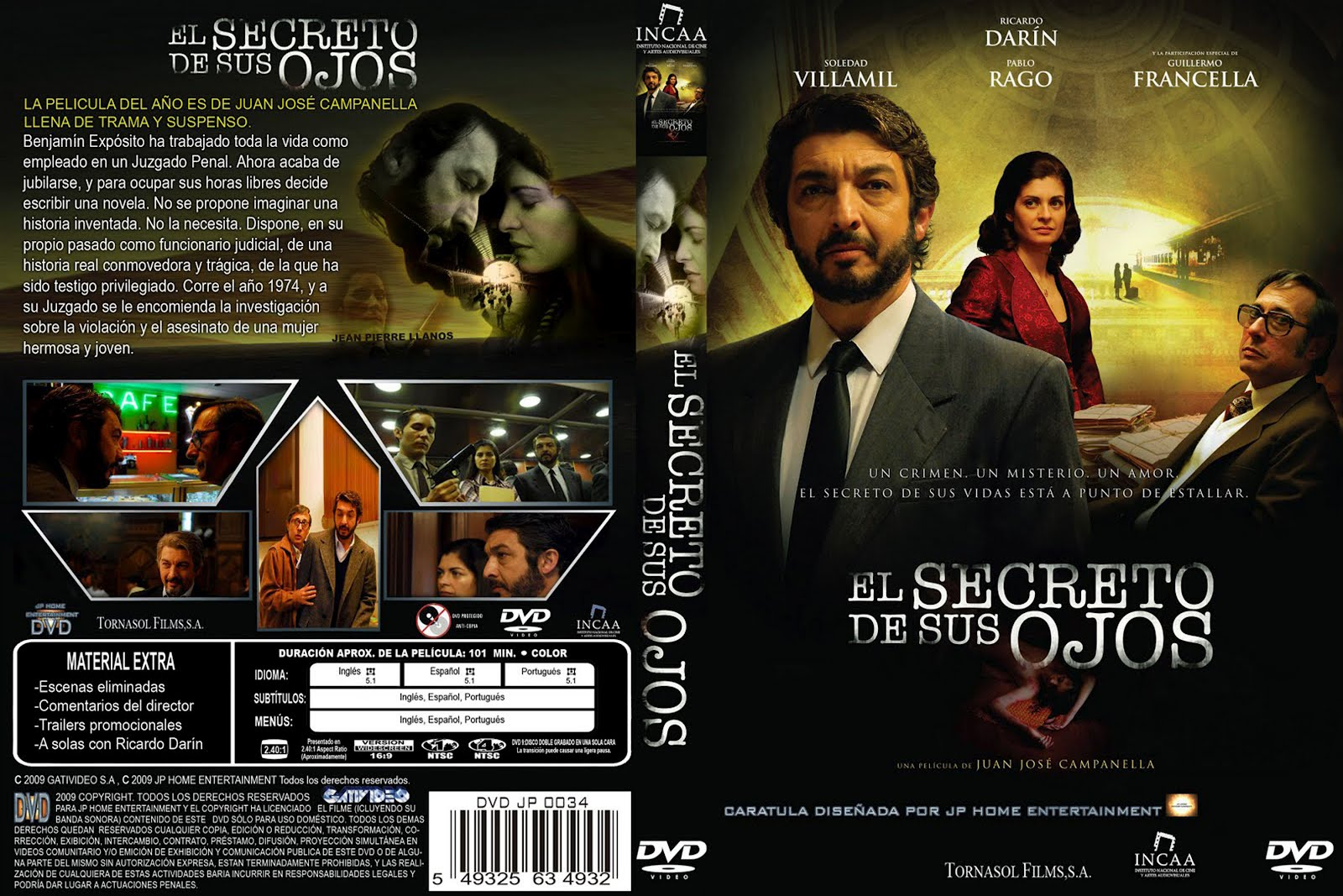The Secret in Their Eyes Dvd Cover