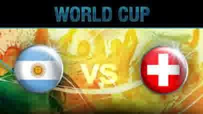 Prediksi Skor Pertandingan Babak 16 Besar World Cup Rabu 2 Juli 2014 : Argentina Vs Switzerland