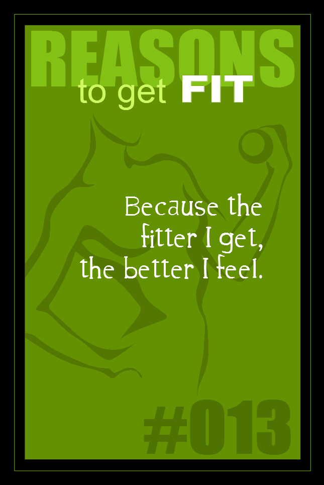 365 Reasons to Get Fit #013