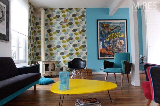 decoration interieur vintage