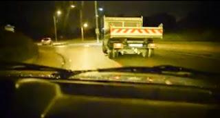 Drift avec un camion de location Kiloutou