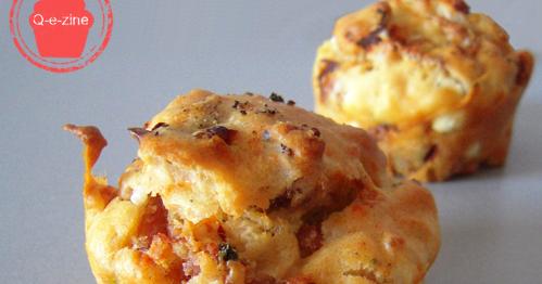 Q E Zine Muffins Feta Tomates S 233 Ch 233 Es Et Jambon Cru