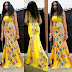 Creative Sleeveless Ankara Long Gown
