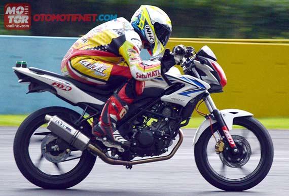 Honda CB150R, Sentuhan Ringan Tembus 158 Km/Jam