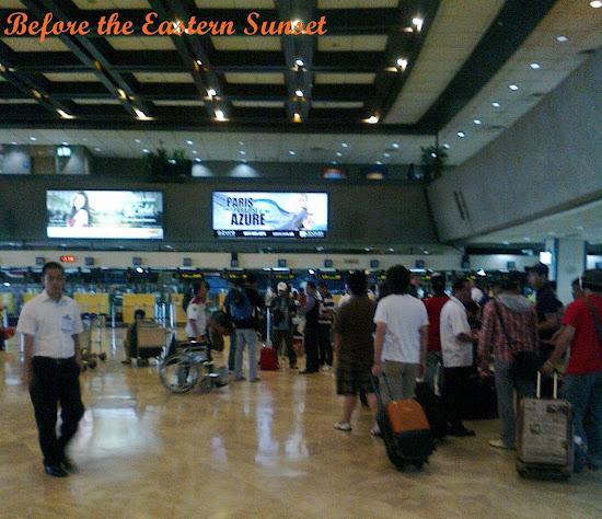 Inside NAIA Terminal 1