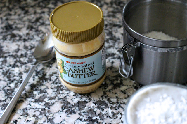 Coconut Cashew Butter Smoothie