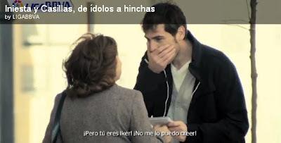 Iker Casillas pide Autografo