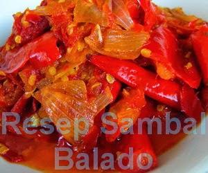 Resep Sambal Balado