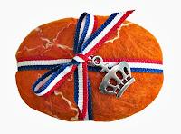 Gevilte Zeep Koninklijk Oranje