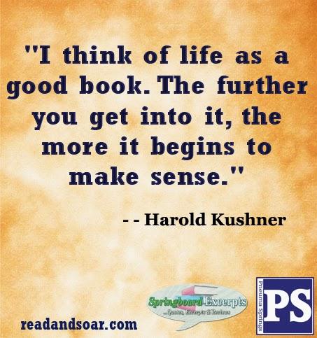 Springboard excerpts read and soar 2014 quote harold kushner fandeluxe Gallery