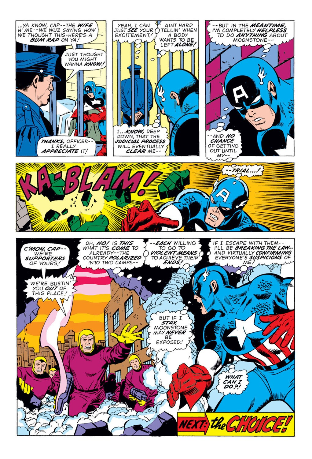 Captain America (1968) Issue #170 #84 - English 20