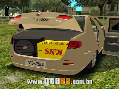 Fiat Siena 2011 EL 1.4 + Roda 17 do Idea Sporting para GTA San Andreas
